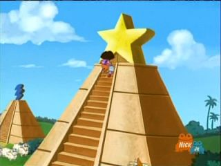 """Unfortunately, they do stoop as low as children's' cartoons. Here we see the popular ""Dora the Explorer"" climbing up a pyramid with a star on top (dogwood star over the pyramid = all seeing eye of lucifer) ▶▶▶▶ MUST WATCH ◀◀◀◀ See pt 5 https://youtu.be/kj6pWGJH5QY?utm_content=buffere3d07&utm_medium=social&utm_source=pinterest.com&utm_campaign=buffer?"