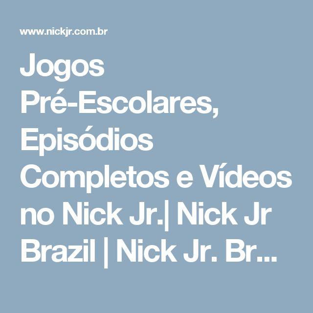 Jogos Pré-Escolares, Episódios Completos e Vídeos no Nick Jr.| Nick Jr Brazil | Nick Jr. Brazil