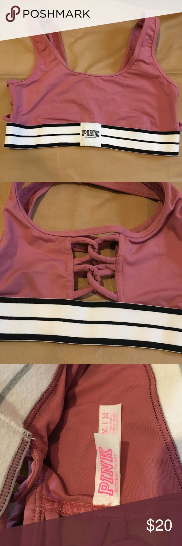 Victoria Secret PINK Sports Bra Cute VS PINK sports bra, NWOT, Size Medium. PINK Victoria's Secret Intimates & Sleepwear Bras