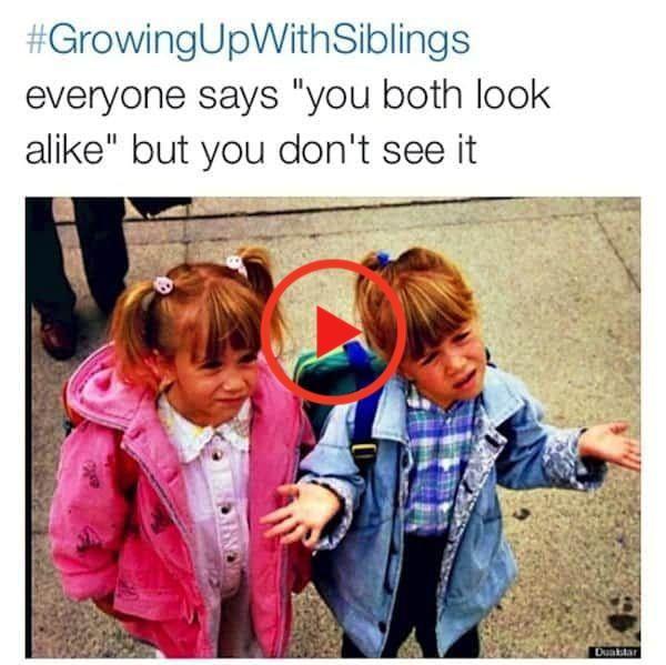 15 Of The Best Growingupwithsiblings Images In 2020 Sibling Memes Siblings Funny Funny Relatable Memes