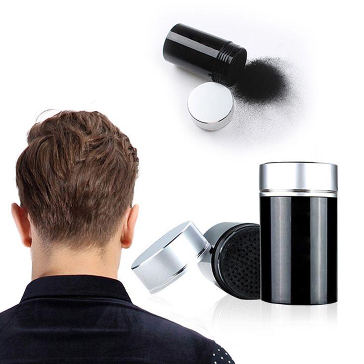 Hair Building Fibers 22g #01 Black Color & Hair Locking Spray 100ml Set