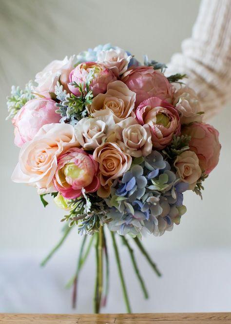 Cómo hacer un ramo de novia Cree su propio ramo de boda con f …