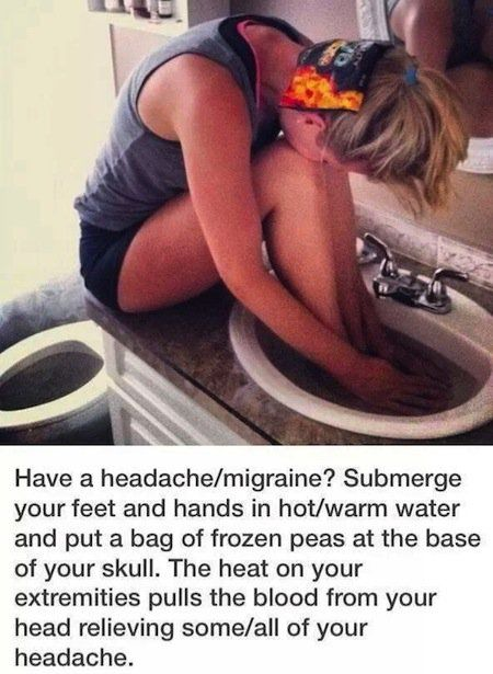 Fastest way to cure a headache