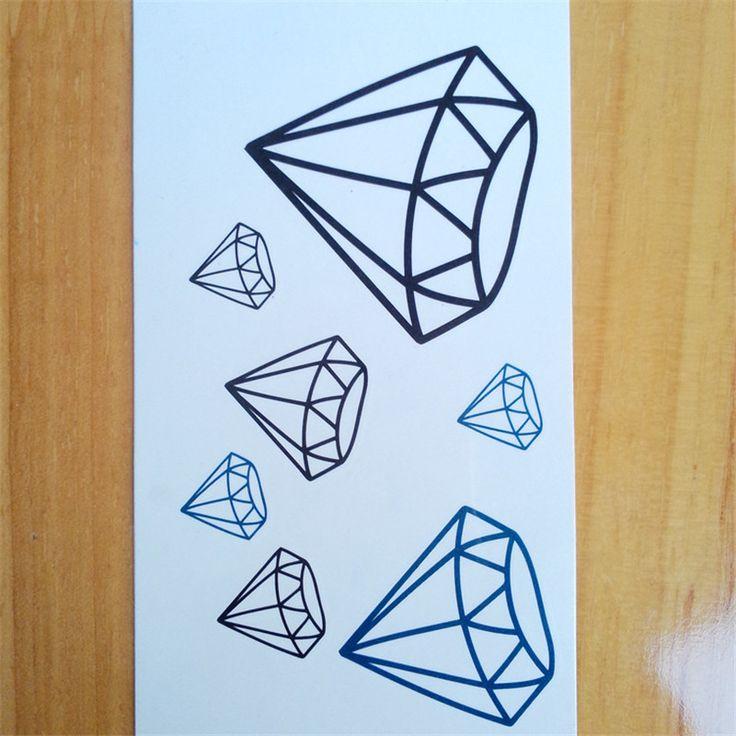 Les 25 meilleures id es concernant tatouages de diamant sur pinterest tatouages de diamant - Tatouage diamant poignet ...