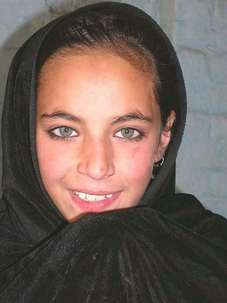 I have always called this Pashtun girl,