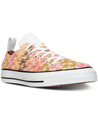 CONVERSE Converse Women's Chuck Taylor Missoni Ox Casual Sneakers from Finish Line. #converse #shoes # all women