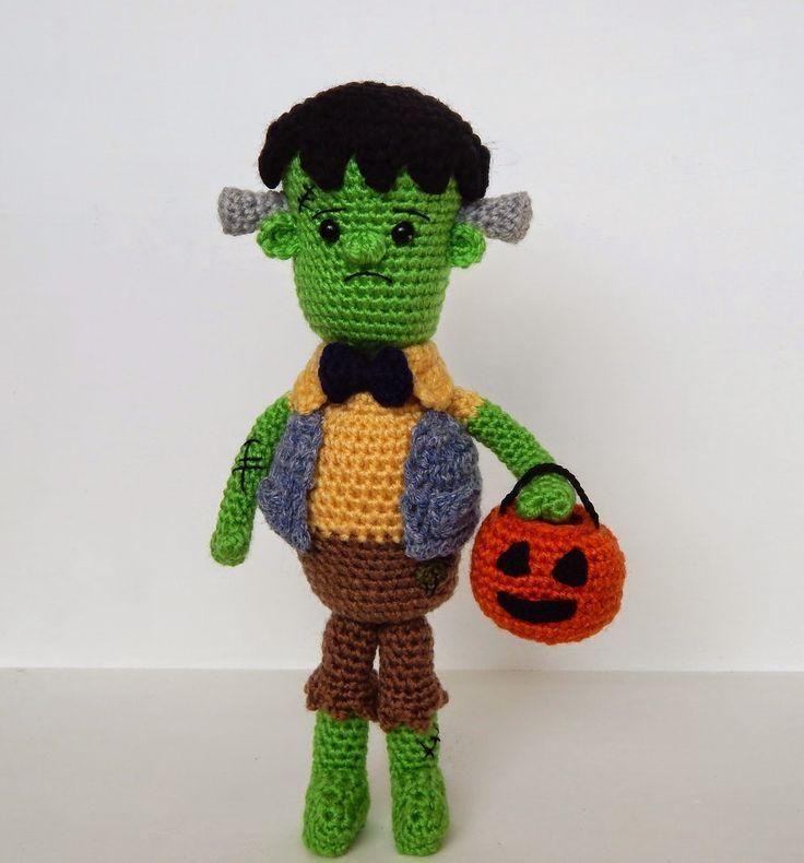 Amigurumi Halloween Free : Monster pattern halloween diy amigurumi food crafts