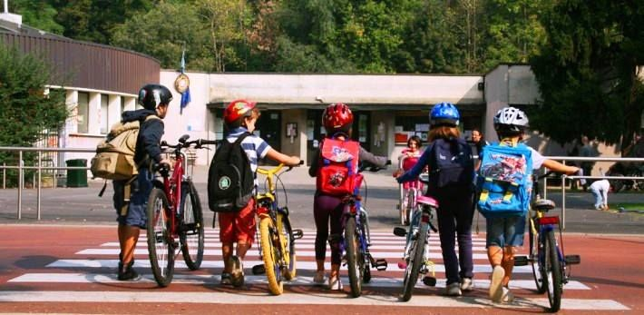 Bike to School Day a Trieste