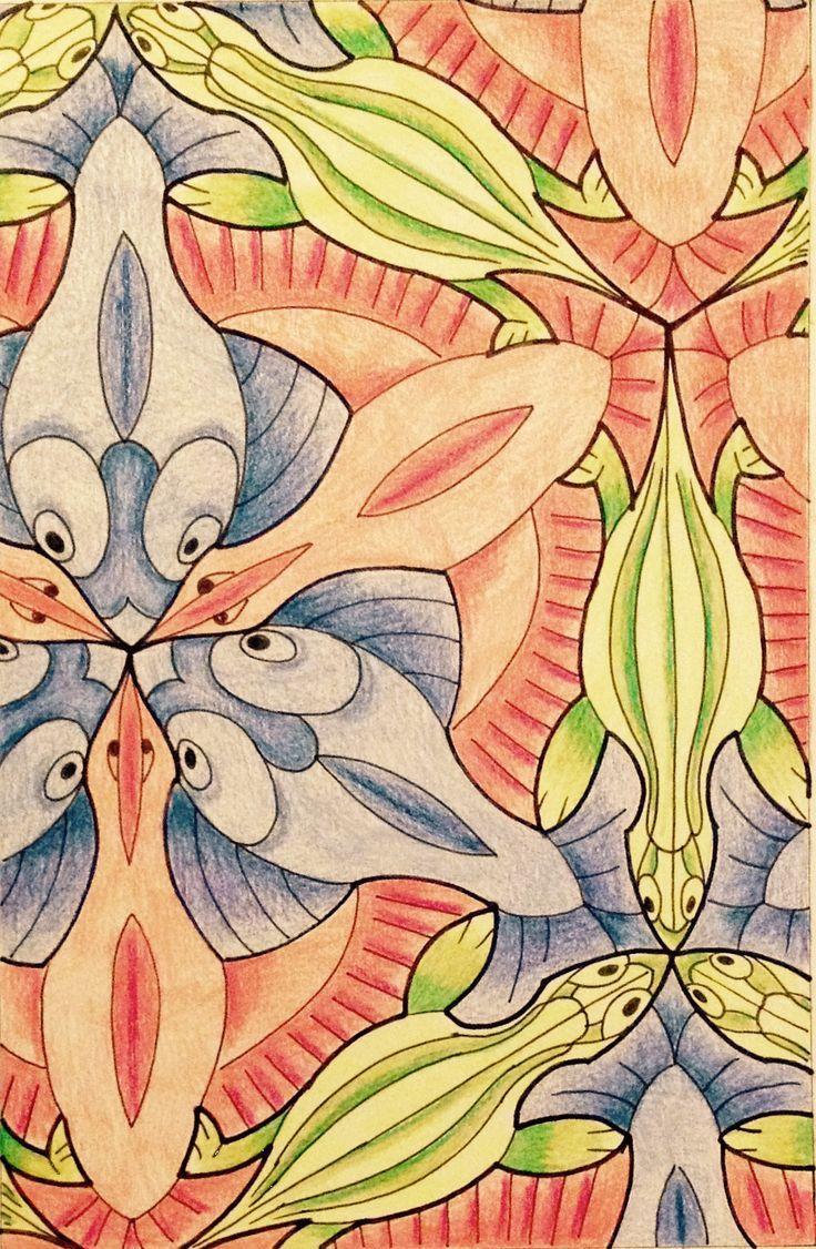 Mejores 157 imágenes de MC Escher By @regolo54 en Pinterest | Arte ...