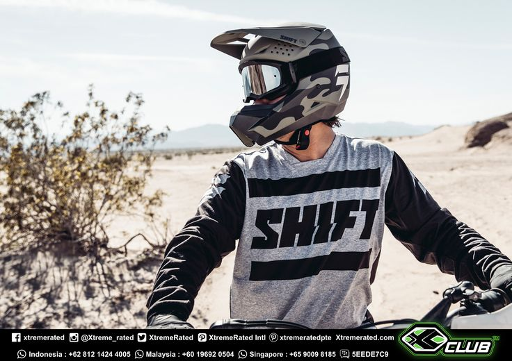 Take it outside | Built for anything, our Recon jersey's use unique materials to keep you comfortable on the trails or back at camp with the crew | SHIFT MX18 Collection IS HERE! Available now in all XCLUB leading stores |  #xtremerated #xclub #shiftmx #mx #dirtbike