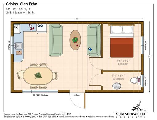 Pool House Plans tiny house floor plan perfect for a guest or pool house Pool House Floor Plans Picture