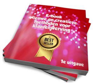 """E-book! Ik zie nog altijd een sterke focus op """"betere vindbaarheid"""", """"hoog in google"""", """"zichtbaarheid"""", """"(online) adverteren"""" """"seo"""", """"naar buiten treden via social media"""" en zo meer. Waarom? Deze acties kosten veel tijd, geld en energie. In dit verkorte e-book reik ik kosteloos een aantal alternatieve en creatieve manieren voor het vinden en werven van klanten aan."""