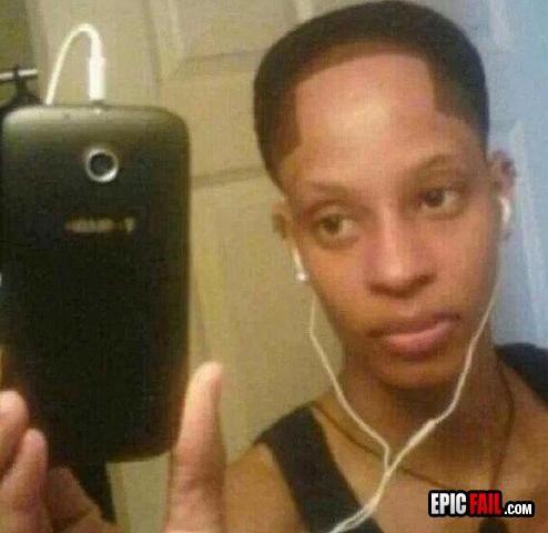 Hairline FAIL #lolsx #Funny