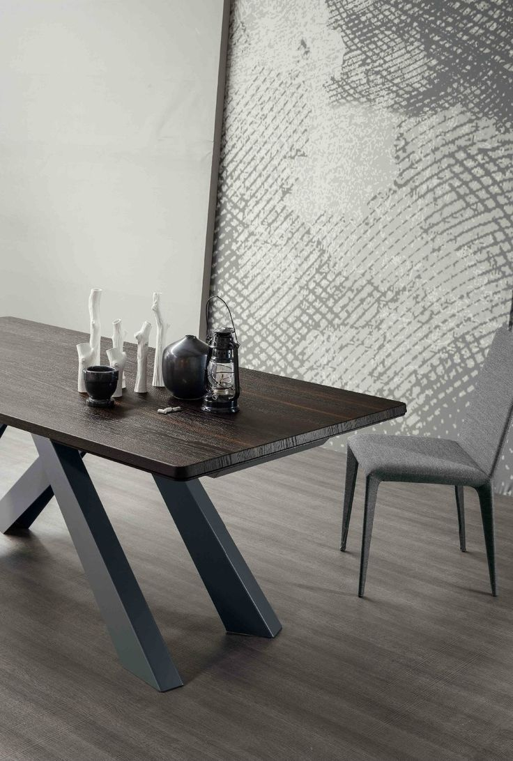 Factory Supply Cheap Wood Table Top Dining Table With Unique Shape Base For Home Use, View wood top metal dining table, Halsons Product Details from Foshan Shunde District Sangzi Import & Export Co., Ltd. on Alibaba.com