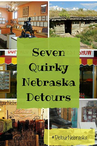 Every state has them. Those quirky locations that stick out from the others. As Gretchen Garrison learned, Nebraska is no exception. Her book entitled, Detour Nebraska, was recently published by the History Press.