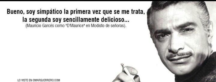 Mauricio Garcés... maestro..!!!