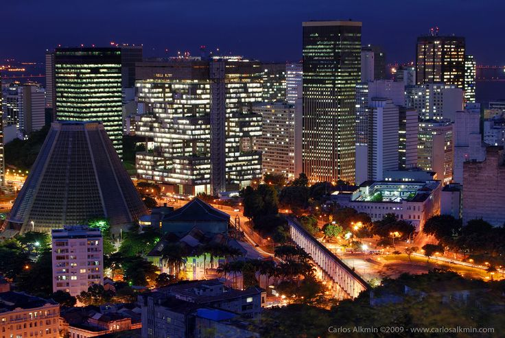 Rio de Janeiro à Noite: From Santa, Arch, Lapa Noit, Janeiro Ao, Da Lapa, Rio Building, Rio De Janeiro, Are Of, Catedr Metropolitana