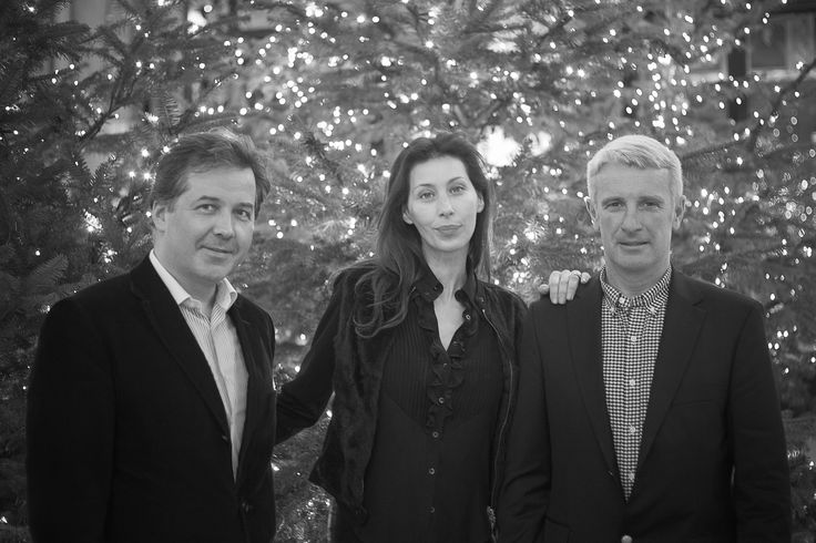 Monsieur et Madame Chavanac de la Maison Graal Joaillier en compagnie de Monsieur Roger-Yves Bost.
