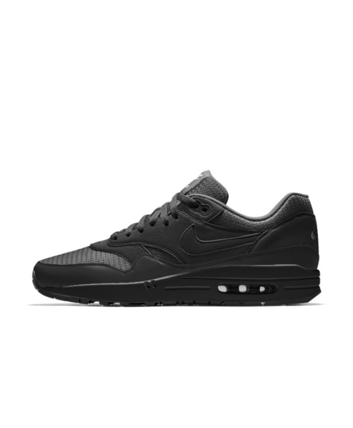Mens Air Max 1 Ultra Essential Low-Top Sneakers, Grey (Black/Cool Grey/Wolf Grey/White), 6.5US Nike