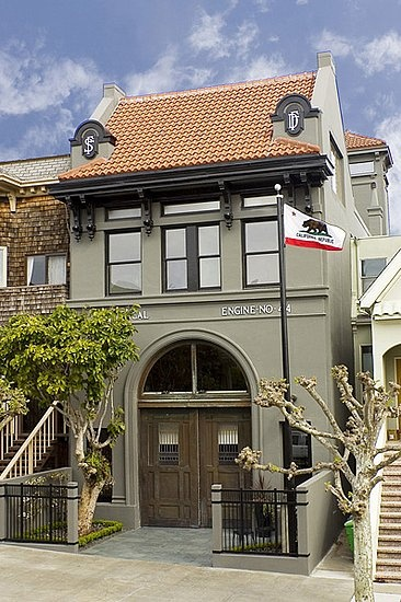 wouldn't it be lovely - firehouse converted into home