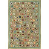 Found it at Wayfair - Hooked Cats Paw Sage Micro Rug