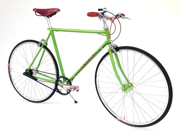 Momentum Mag's Holiday Gift Guide: Beagle Bicycle Co. Chesini Scapola Verde