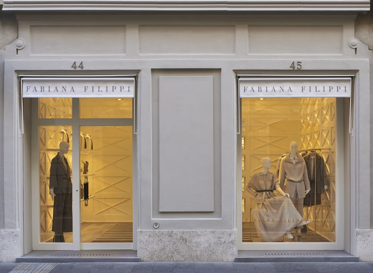 Rome. Front window. #Rome #Roma #Italy #fashion #fabianafilippi #store #flagship