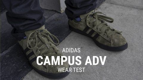 a874b09bca Adidas Campus ADV Skate Shoe Wear Test- Tactics