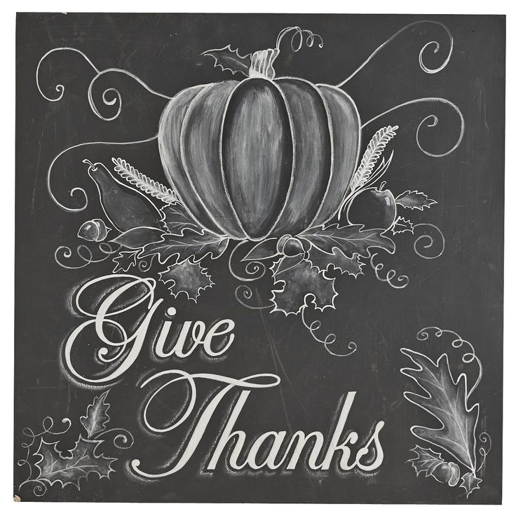 Give Thanks Chalk Art   Pier 1 Imports