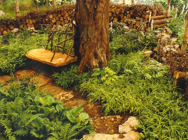 Garden Design with Learn about The Woodland Garden Hampton Court