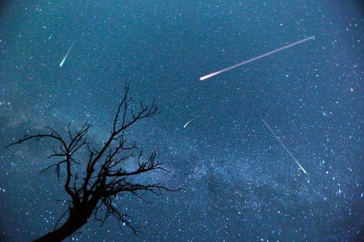 Ervaar duizenden vallende sterren als de meteorenzwerm Perseïden over de hemel dendert en een vuurwerk van 100 vallende sterren per uur verzorgt. Tussen 11 en 13 augustus vallen de sterren bij bosjes – en gaan al je wensen in vervulling. De komeet Swift-Tuttle komt eens in de 133 jaar door het binnenste zonnestelsel, tussen de zon en Jupiter, en laat een spoor van stof en steentjes achter.