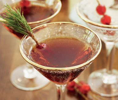 Recept: Glöggmanhattan