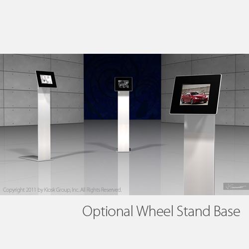 Full View of Standalone iPad Kiosk