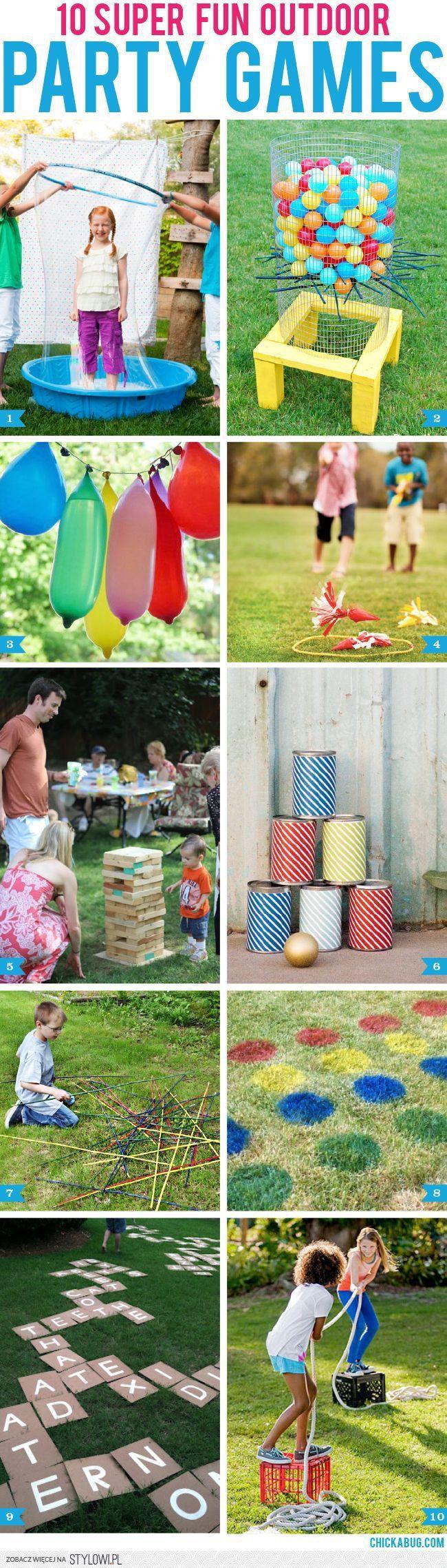 ogrodowe przyjęcie dla dzieci