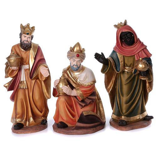 2c33bef1199 Set tres magos para belén de resina 100 cm  reyesmagos  reymago  melchor   gaspar  baltasar  belén  pesebre  navidad  artesacro  holyart  holyart.es