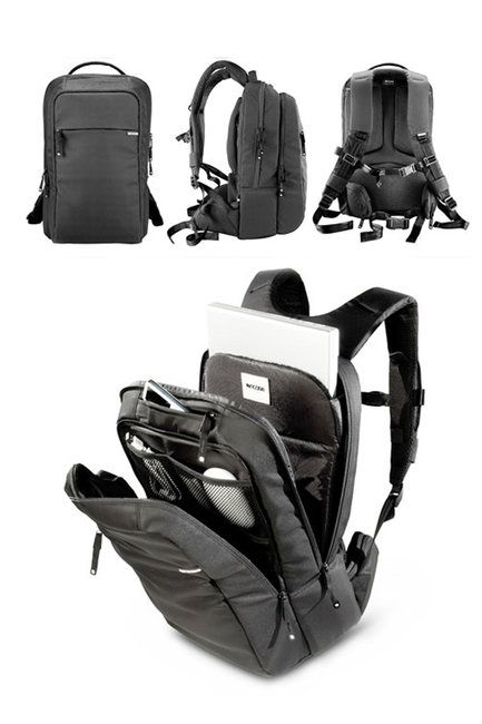 """Incase Nylon Backpack for 17"""" Inch MackBook Pro. Best backpack ever, but the zipper wore out on mine."""