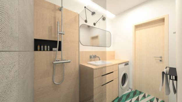 Návrh kúpeľne - interiér Banšelova, Bratislava - Interiérový dizajn / Bathroom interior by Archilab