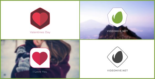 Minimal Logo | Love logo (Corporate) #Envato #Videohive #aftereffects