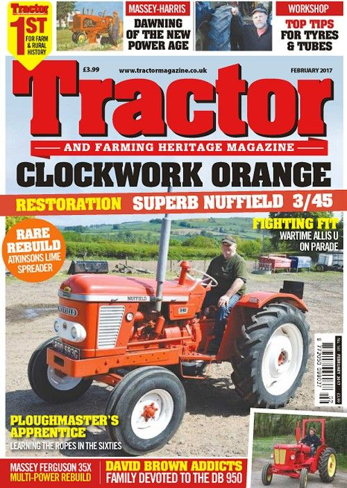 Tractor & Farming Heritage Magazine - February 2017