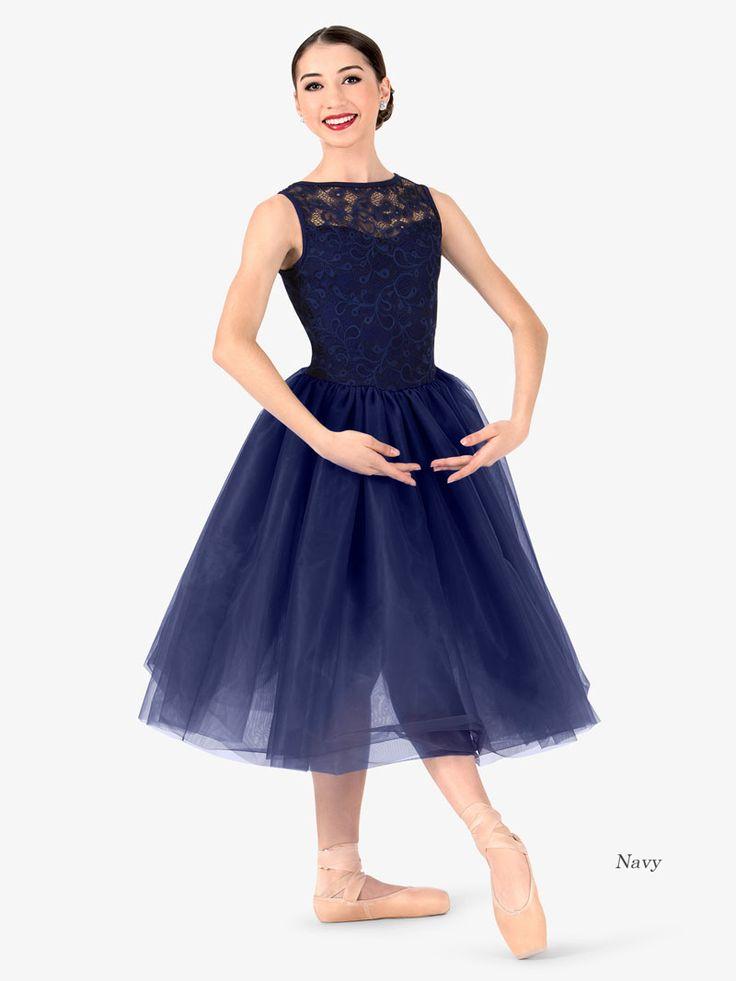 [Worldwide Delivery]  ELISSE Womens Lace Overlay Ballet Tutu Dress エリッセ レースオーバーレイバレエチュチュドレス(大人)N7481  【1万円以上送料無料/Worldwide Delivery】Grishko(グリシコ), Wear Moi(ウェアモア)をはじめ、日本未発売の欧米のバレエ用品を一早くご紹介。新体操用の長袖レオタード、大きいサイズ レオタード, メンズ・男の子バレエ用品, 幅細トゥシューズ、ダンス・バトン・チア衣装は当店にお任せ下さい。【輸入バレエ用品通販専門店】LINE:@eyr3713k