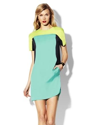 Vince Camuto Colorblock Dress