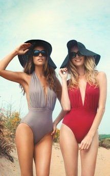 Pool party swimwear by BeachHeart Swimwear. One piece for Ibiza, Dubai, Bora Bora, Bali