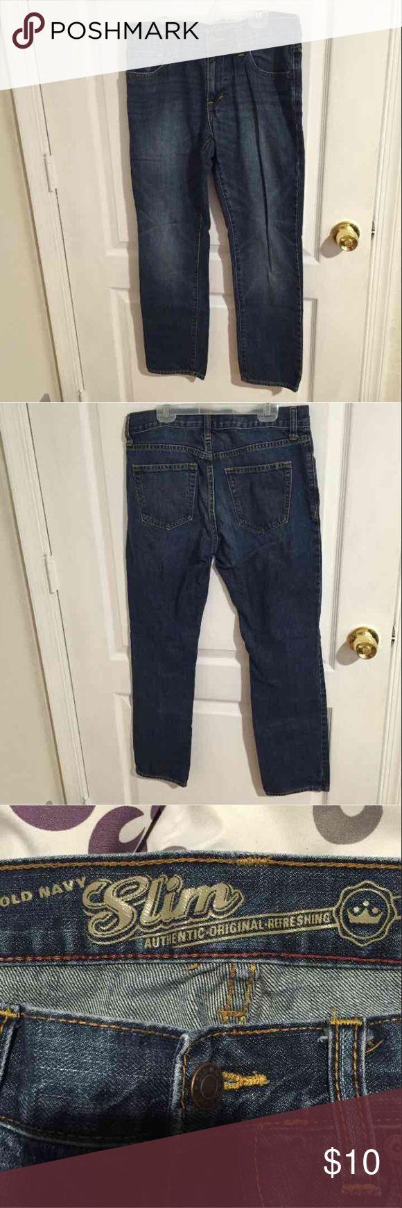 Old Navy Men's Slim Jean Size 30X30 Old Navy men's slim fit jean. Size 30X30 never worn. Old Navy Jeans Slim