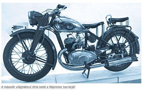 Népmotor 1939-ben, Pajor Imre tervei alapján, elkészült a 250 köbcentiméteres motorkerékpár (a motort Németországban vásárolta). A pirosra festett motorkerékpárok – a tervező elképzeléseit tükrözve – a Népmotor nevet kapták. A Stadler Sodrony-, Szövetfonat- és Vasárugyár Rt. készítette a motorkerékpár vázát és szerkezeti elemeit.