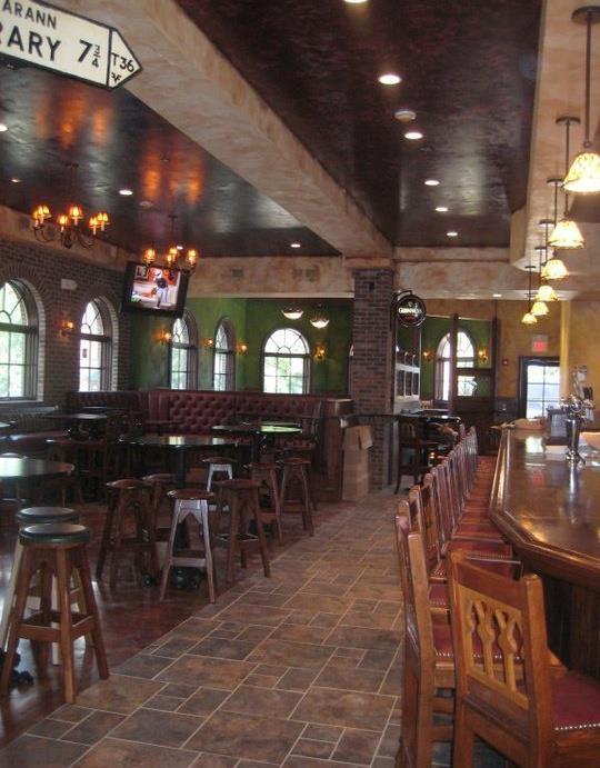 Oneil S Irish Pub Decorative Walls Done Irish Pub