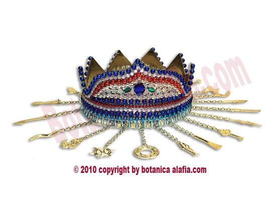 Yemaya Crowns (Okute)