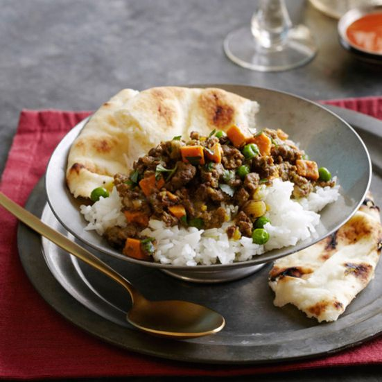 Quick Coconut Lamb Curry Recipe - Grace Parisi | Food & Wine– I made it and marked Very Good!