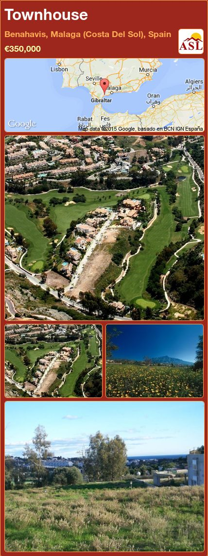 Townhouse in Benahavis, Malaga (Costa Del Sol), Spain ►€350,000 #PropertyForSaleInSpain