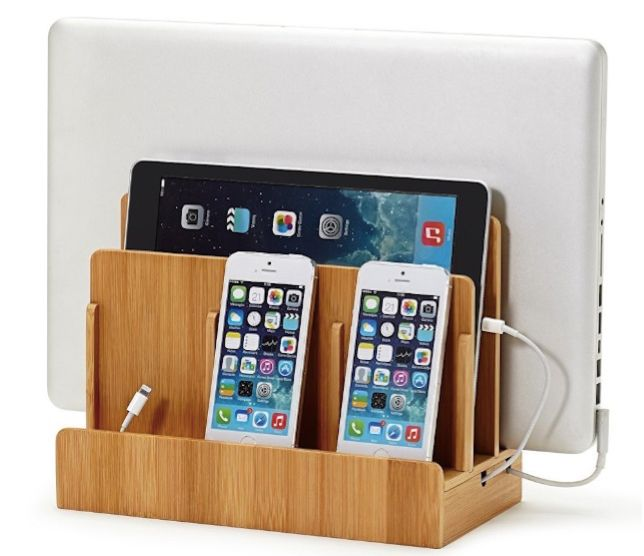 Bamboo Multi Device Charging Station