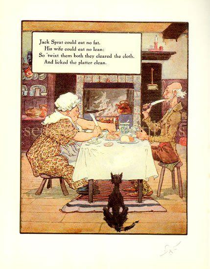 jack sprat nursery rhyme coloring page - best 25 mother goose ideas on pinterest mother goose